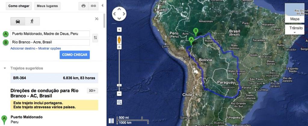 Från Puerto Maldonado till Rio