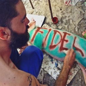 Fidel por El Sexto