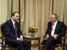 Löfven och Castro