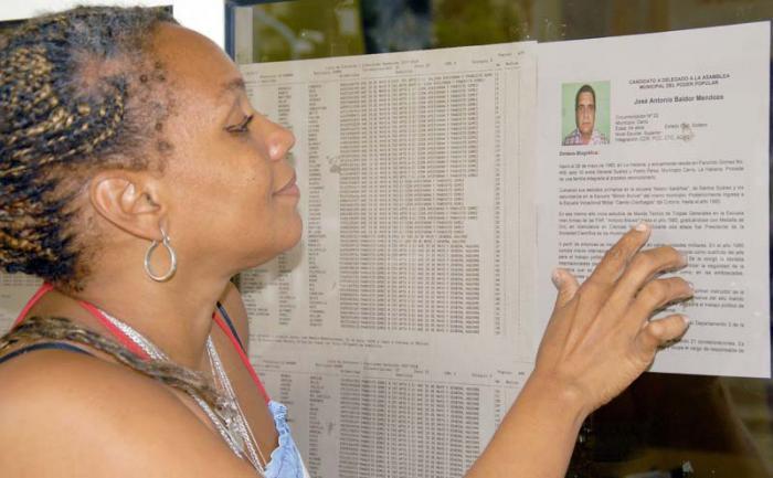 Bilden från kubanska kommunistpartiets tidning Granma.